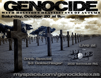 GenocideFlyer